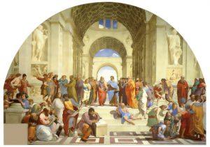 Exedra antico