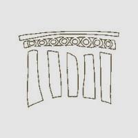 La storia Exedra - colonne
